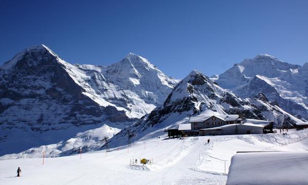 Eiger Glacier Station. From travelmemo.com.