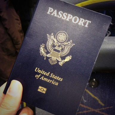 Passports were crucial, of course.