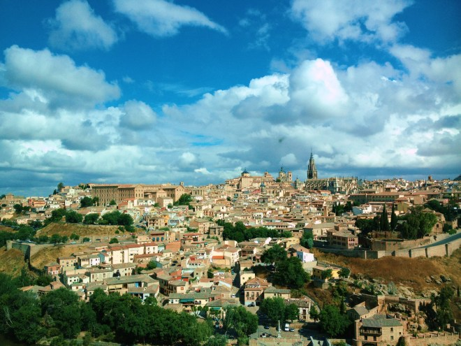While I loved taking this snap of Toledo, it was so much more magical to experience the view without my camera in front of my face.