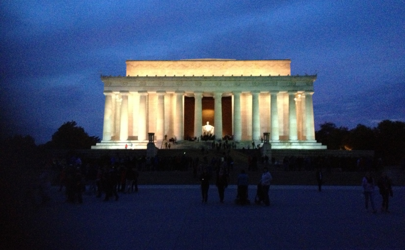 The Lincoln Memorial and Other Things in My Backyard