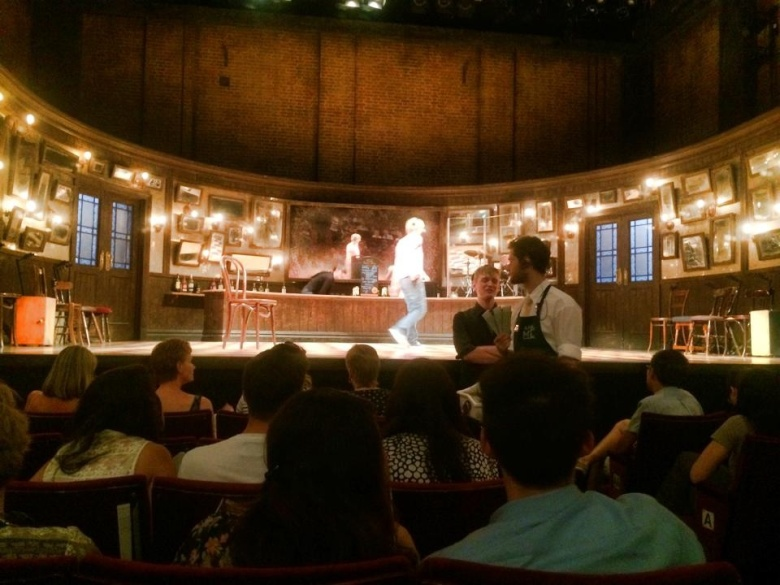 The set for the musical was one of the best I've seen yet.