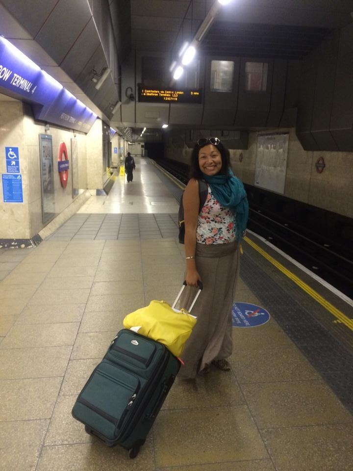 I made it London!