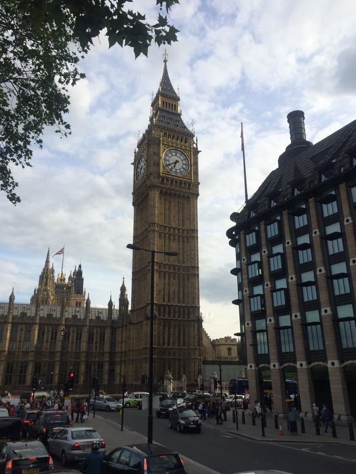Big Ben says hi.