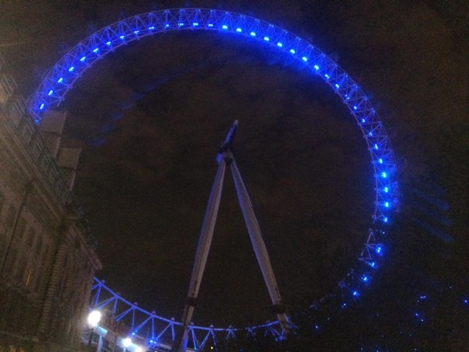 Is it possible the the London Eye is even more beautiful at night?