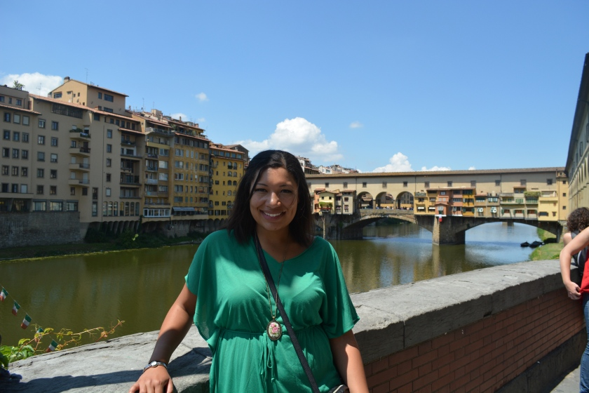 The Ponte Ponte Vecchio looked like a post card.