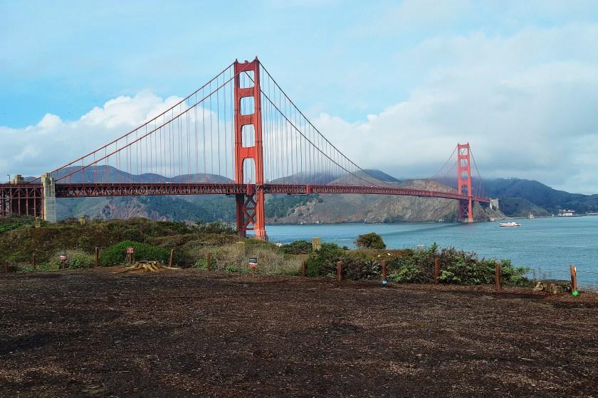 Vista Point Golden Gate Bridge