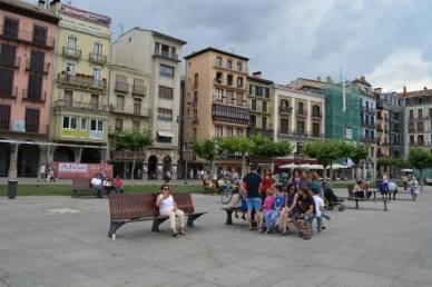 People in Spain enjoy a nice break in the afternoon.