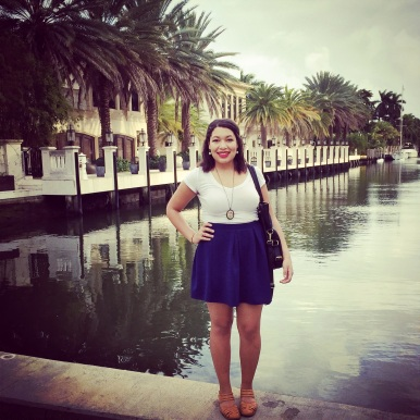 A beautiful pier on Las Olas Boulevard.