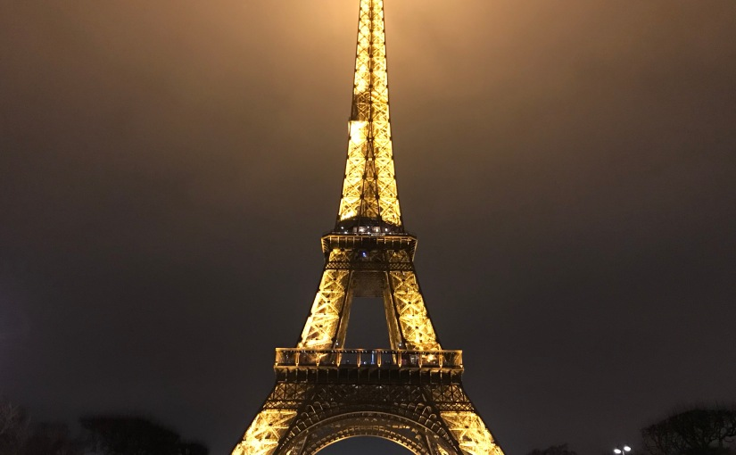 On my escape to Paris (andbeyond)