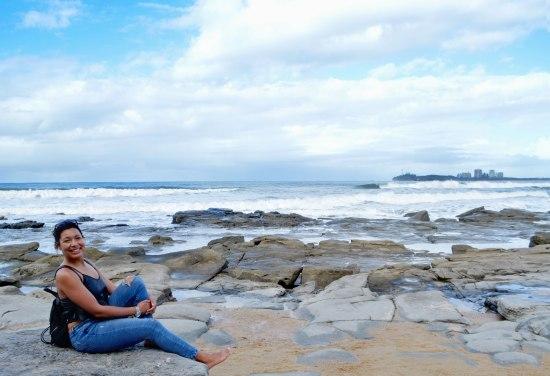 Beautiful beaches in the Sunshine Coast.