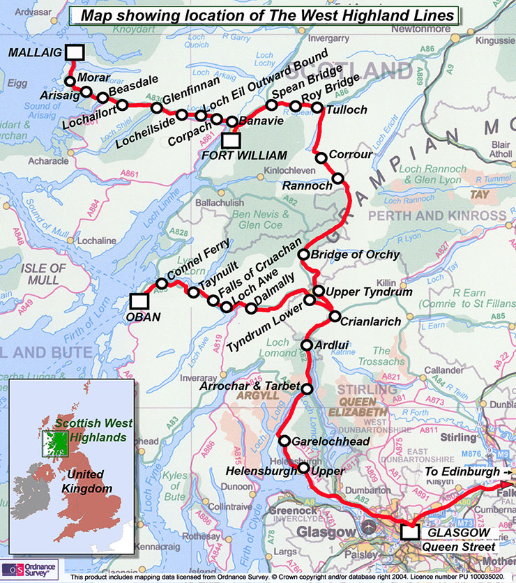 the West Highland Line.